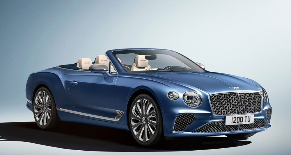 Bentley Mulliner raises the bar for luxury open-top Grand Touring with the new Continental GT Mulliner Convertible
