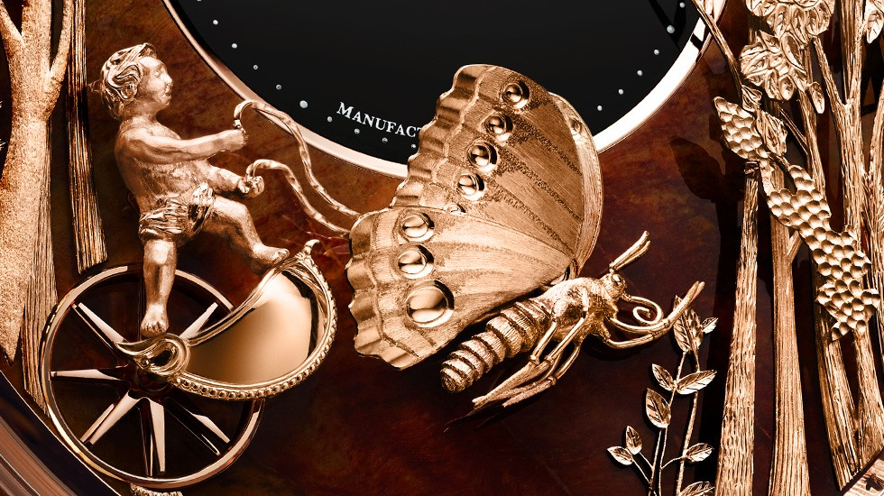 A place in eternity for Jaquet Droz's loving butterfly