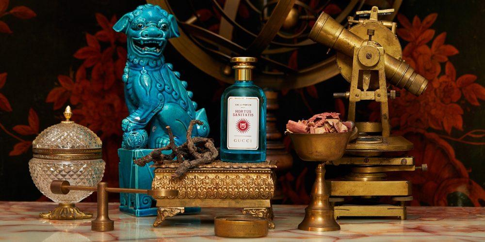 Gucci the alchemist garden Hortus Sanitatis is an invigorating unisex fragrance