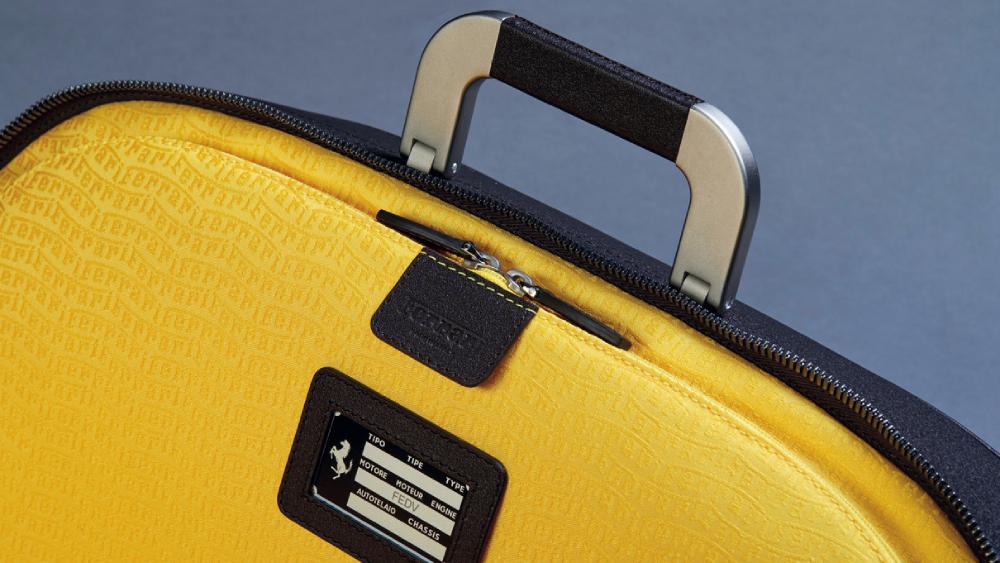 Meet the Ferrari x Marc Newson tailored luggage line