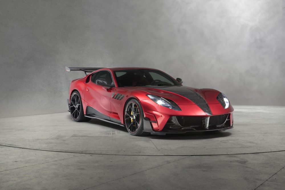 Mansory Stallone, Spectacular carbon chariot based on Ferrari 812 Superfast