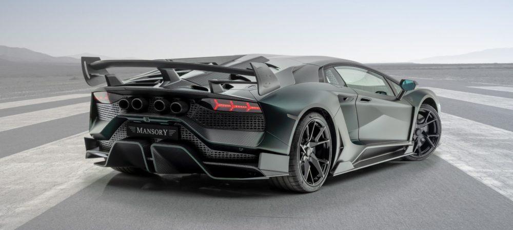 MANSORY Cabrera: a complete vehicle conversion based on a Lamborghini Aventator SVJ