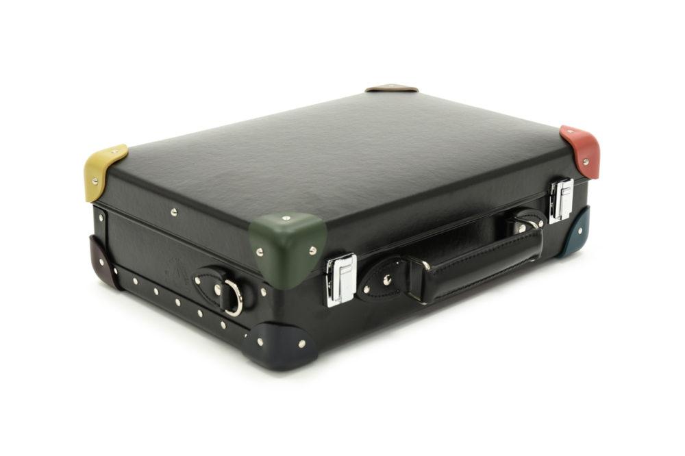 Globe-Trotter x Paul Smith newest collaboration, 'Mini Attache Case'