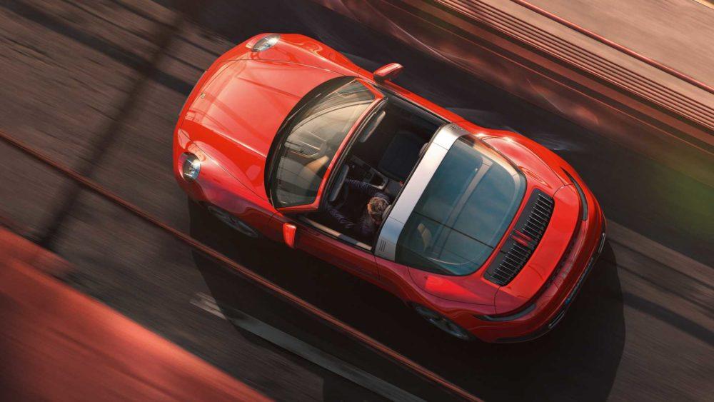 2021 Porsche 911 Targa, an independent concept which became a style icon