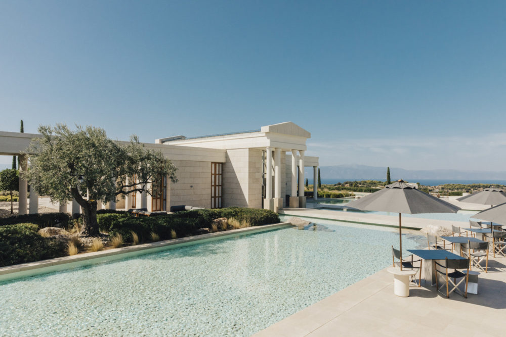 Amanzoe, Porto Heli, an entire hilltop and private beach for unrivalled seclusion in Greece