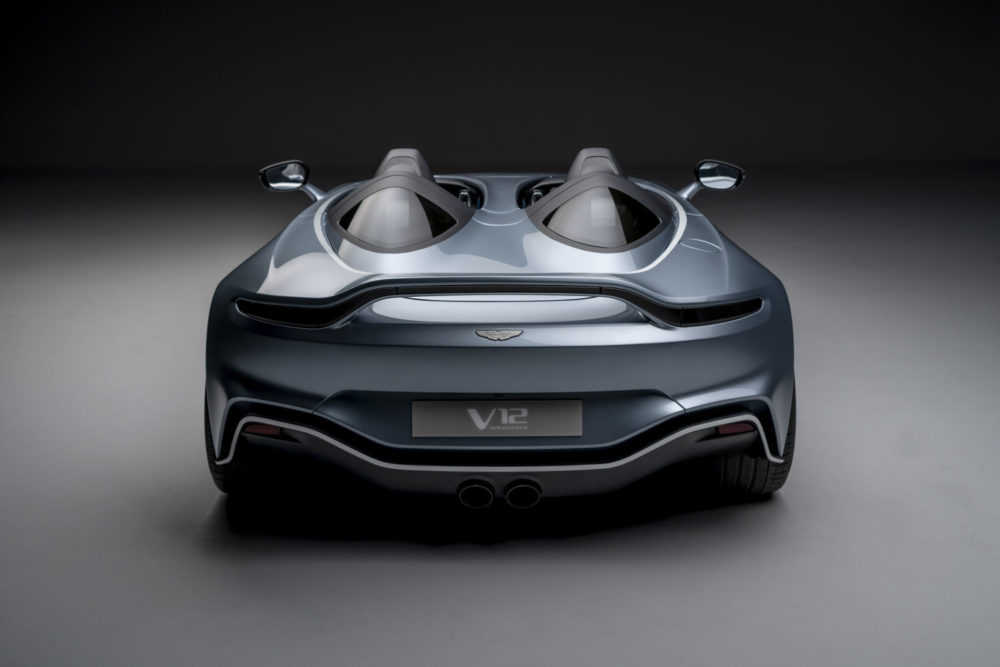 Aston Martin V12 Speedster: a puristic limited edition with only 88 examples