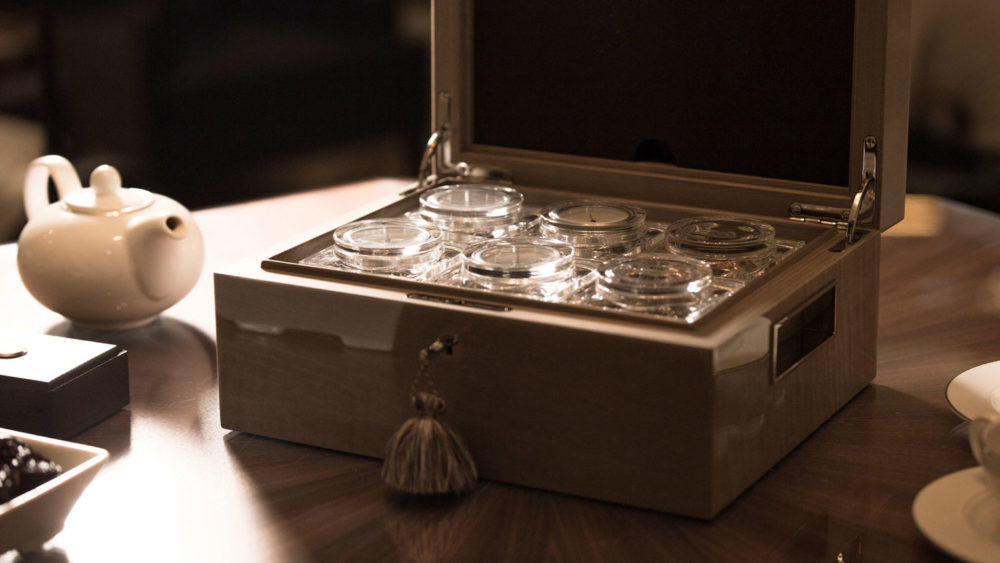 The Lotusier tea humidor, an objet d'art for preserving fine and rare teas