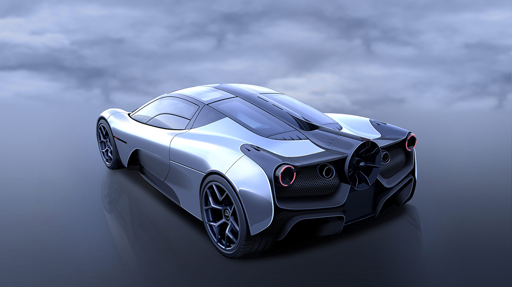 Gordon Murray Automotive 'T.50': the purest, lightest, most driver-focused supercar ever