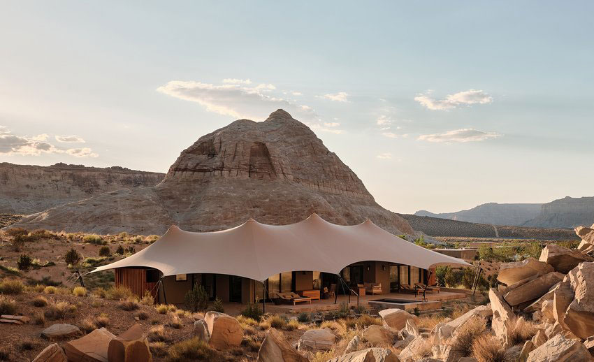 Camp Sarika by Amangiri, become one with wilderness at Canyon Point, USA