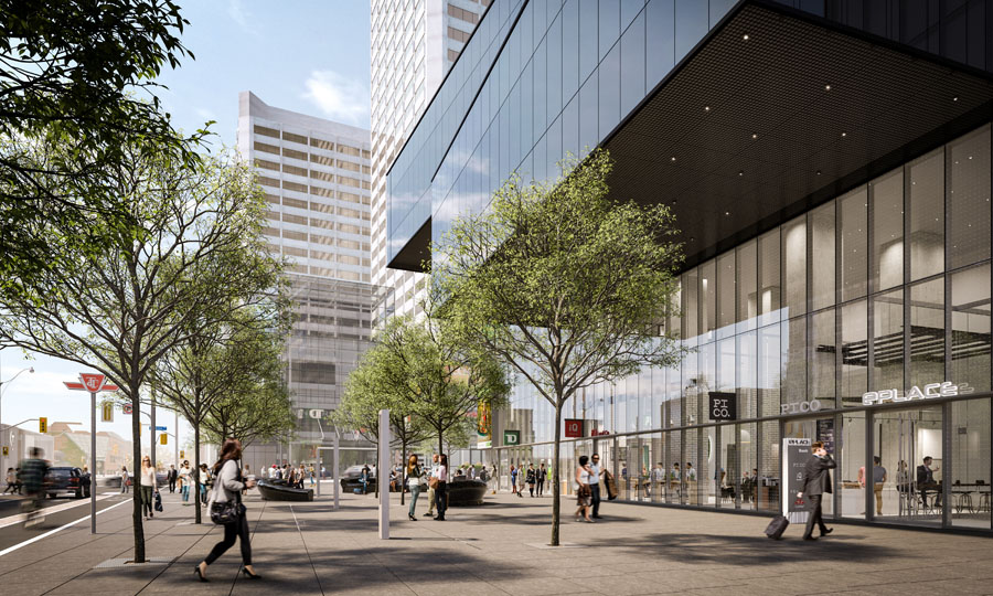 eCondos by BAZIS, two daring buildings soaring over the corner of Yonge and Eglinton in Toronto