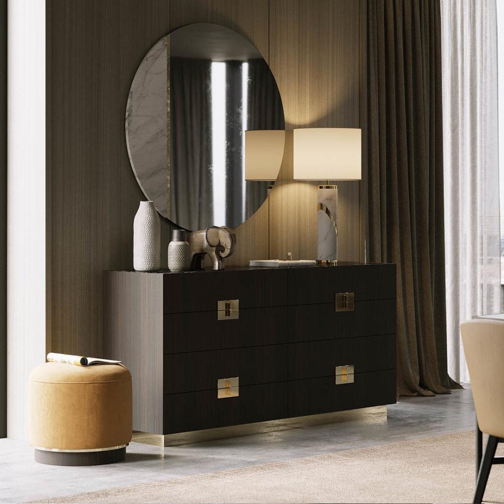 The Auriga 2020 bedroom collection by Laskasas interior design