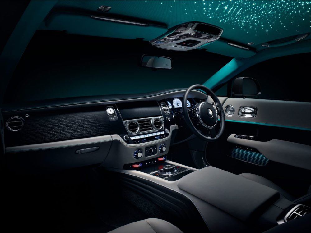 The new Rolls-Royce Wraith Kryptos Collection is a labyrinth of complex ciphers