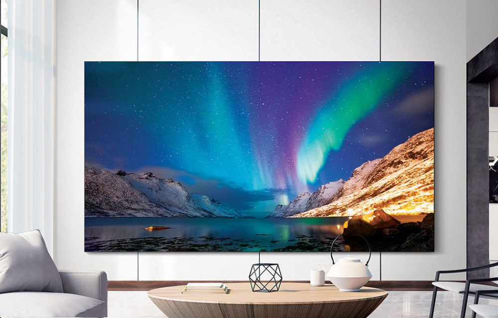 Samsung's 'The Wall Luxury' is an enticing super-sized bespoke display