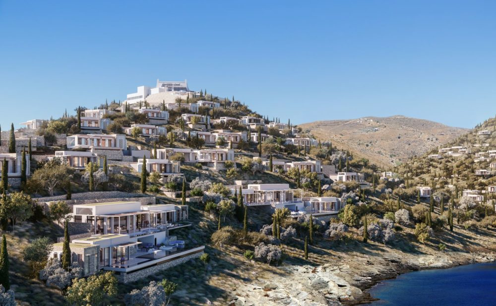 One&Only Private Homes on the island of Kéa, Greece's best kept secret