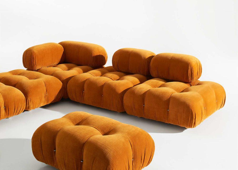 Modular majesty: B&B Italia x Mario Bellini's statement Camaleonda sofa to be re-issued this year
