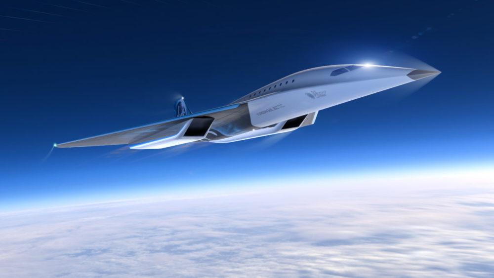 Virgin Galactic unveils Mach 3 aircraft design for high speed travel