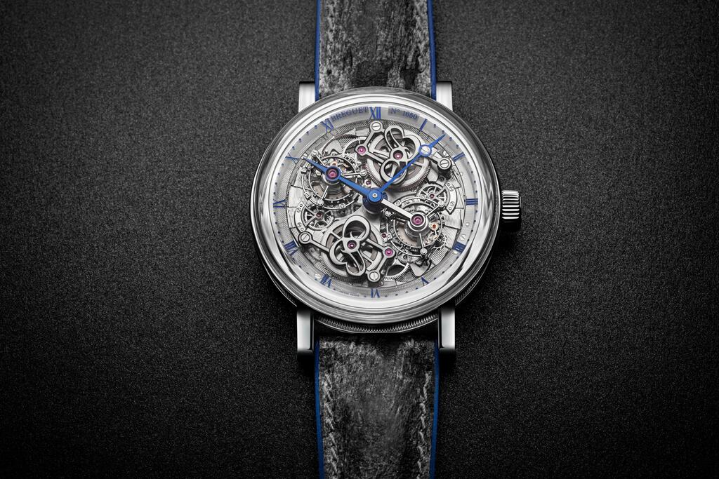 The new Classique Double Tourbillon Quai de l'Horloge by Breguet