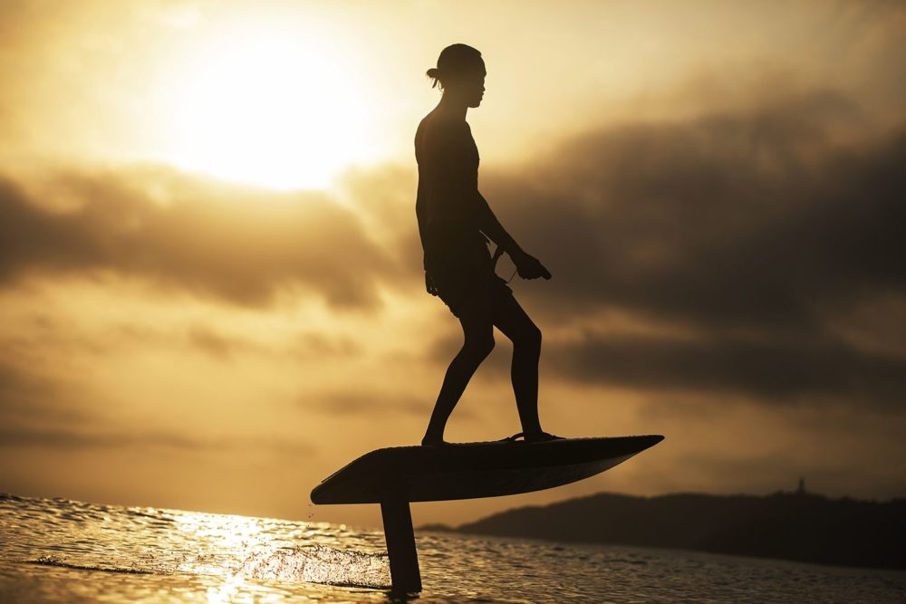 Introducing the electric powered hydrofoil Fliteboard