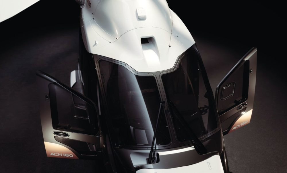 The ACH160 is the most modern interpretation of the Airbus vision