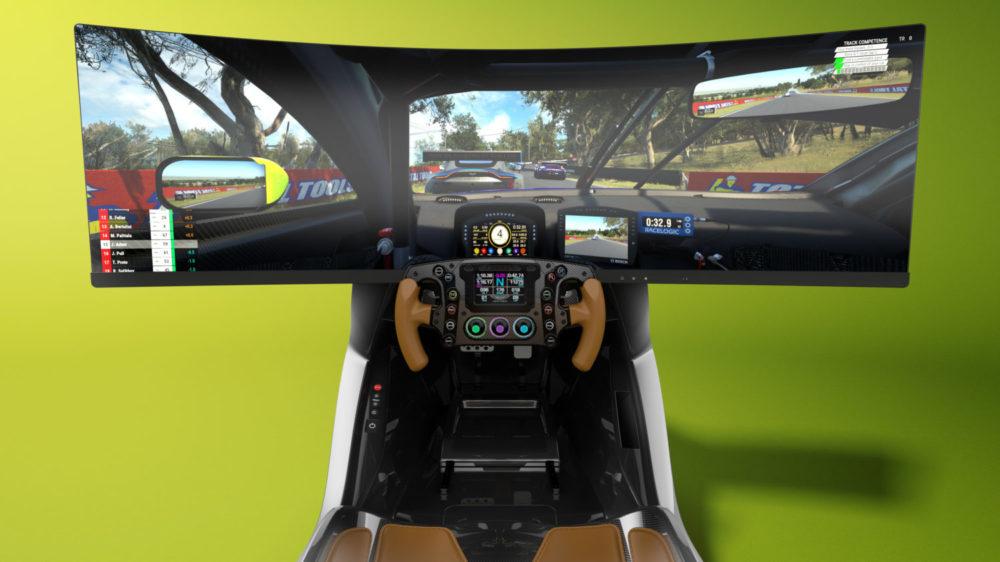 The AMR-C01 racing simulator by Aston Martin and Curv Racing Simulators
