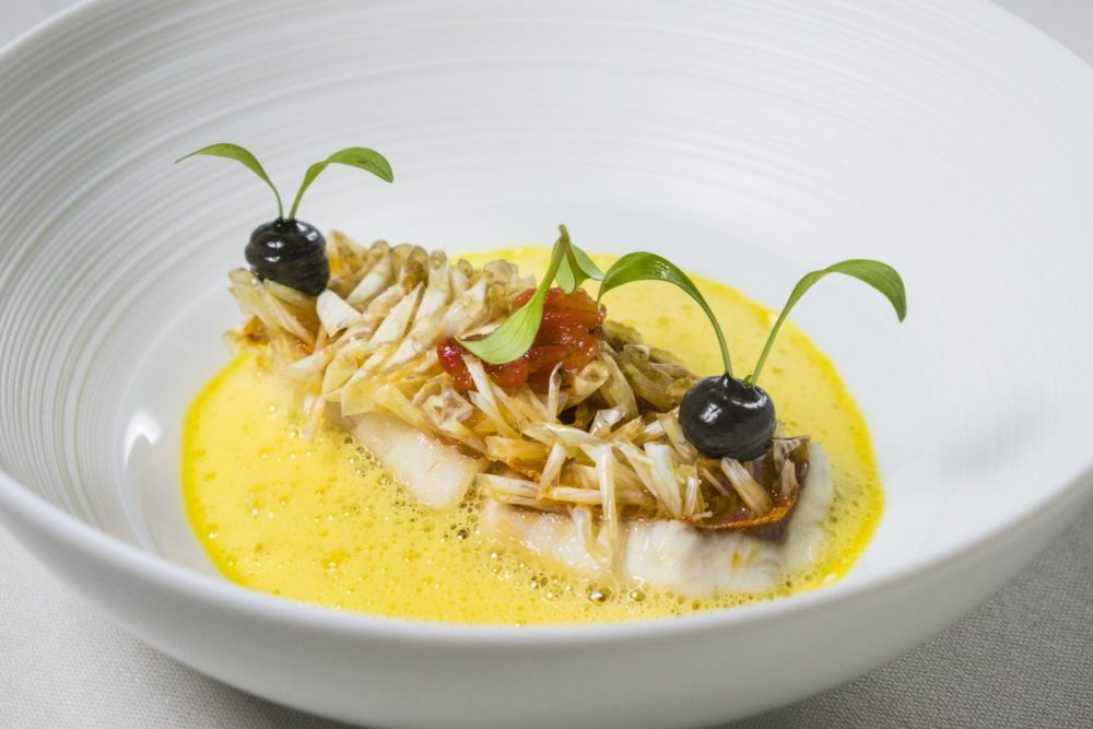 Cheval Blanc by Peter Knogl, exquisite French cuisine in Basel