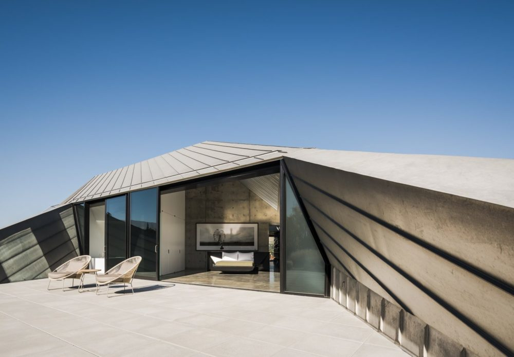 OPA Architects' Shapeshifter House: a spatial experience in the Nevada desert
