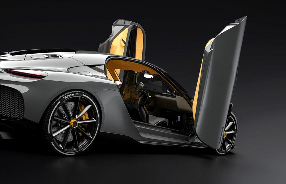 2021 Koenigsegg Gemera, the world's first Mega-GT