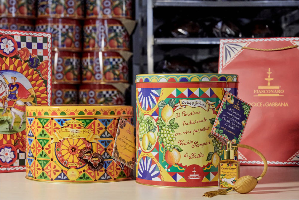 A unique gift proposition, Dolce&Gabbana x Fiasconaro limited edition sweet treats
