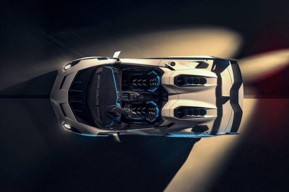 Lamborghini SC20: the unique open-top track car by Squadra Corse