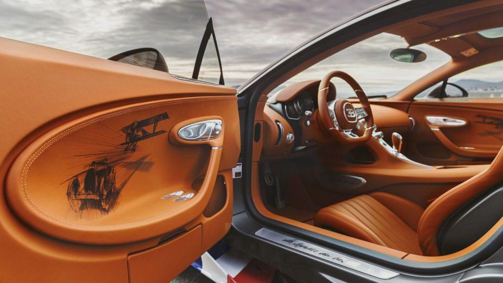 The 2021 Bugatti Chiron Sport Les Légendes du Ciel pays tribute to legendary French pilots