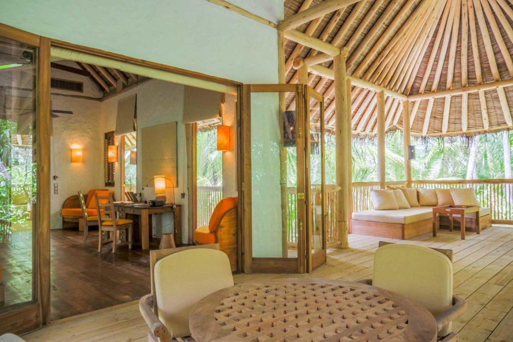 Soneva Jani's Private Residences, overwater and beachfront Island Residences