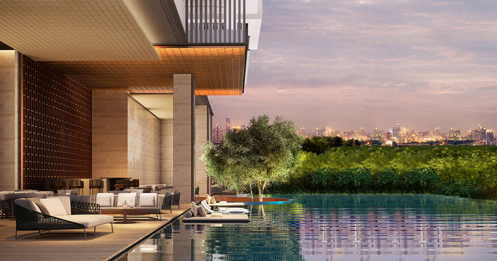 Aman Nai Lert Bangkok, Thailand's first urban Aman Private Residences