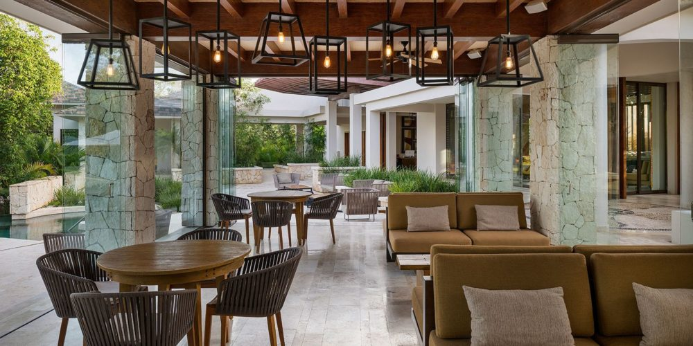 Fairmont Residences, Mayakoba, Mexico, a luxury resort set among lagoons and fairways