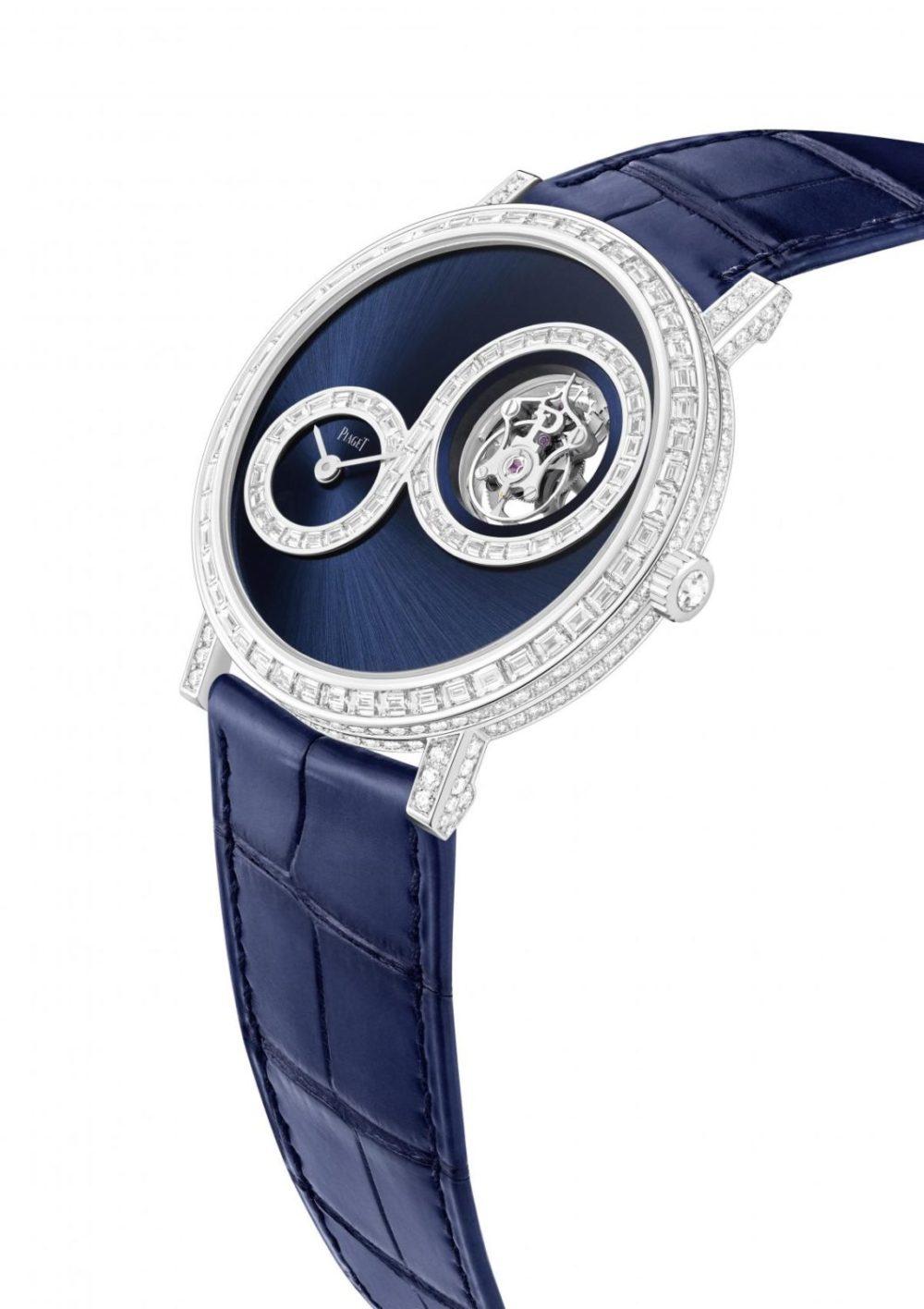 Piaget's Altiplano Tourbillon Infinite Blue epitomizes daring creativity