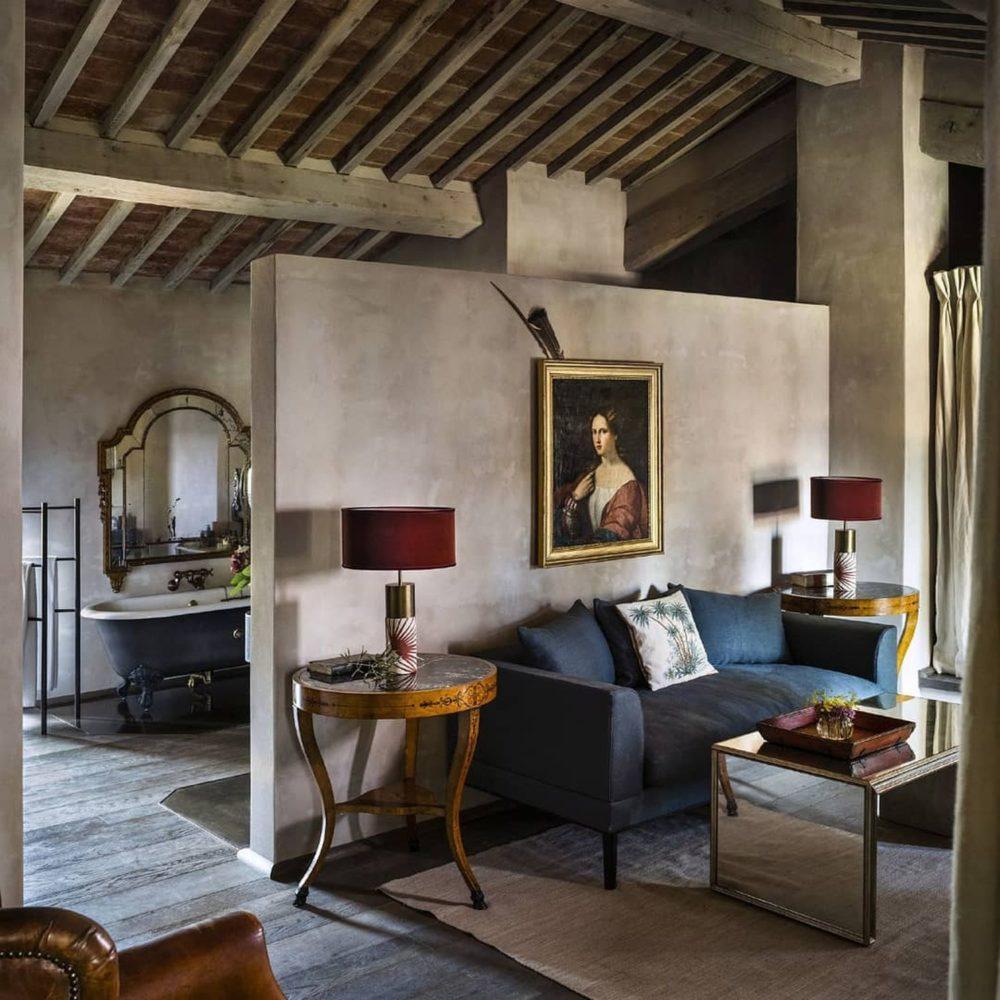 Castello di Reschio—wild Umbrian countryside meets effortless Italian style