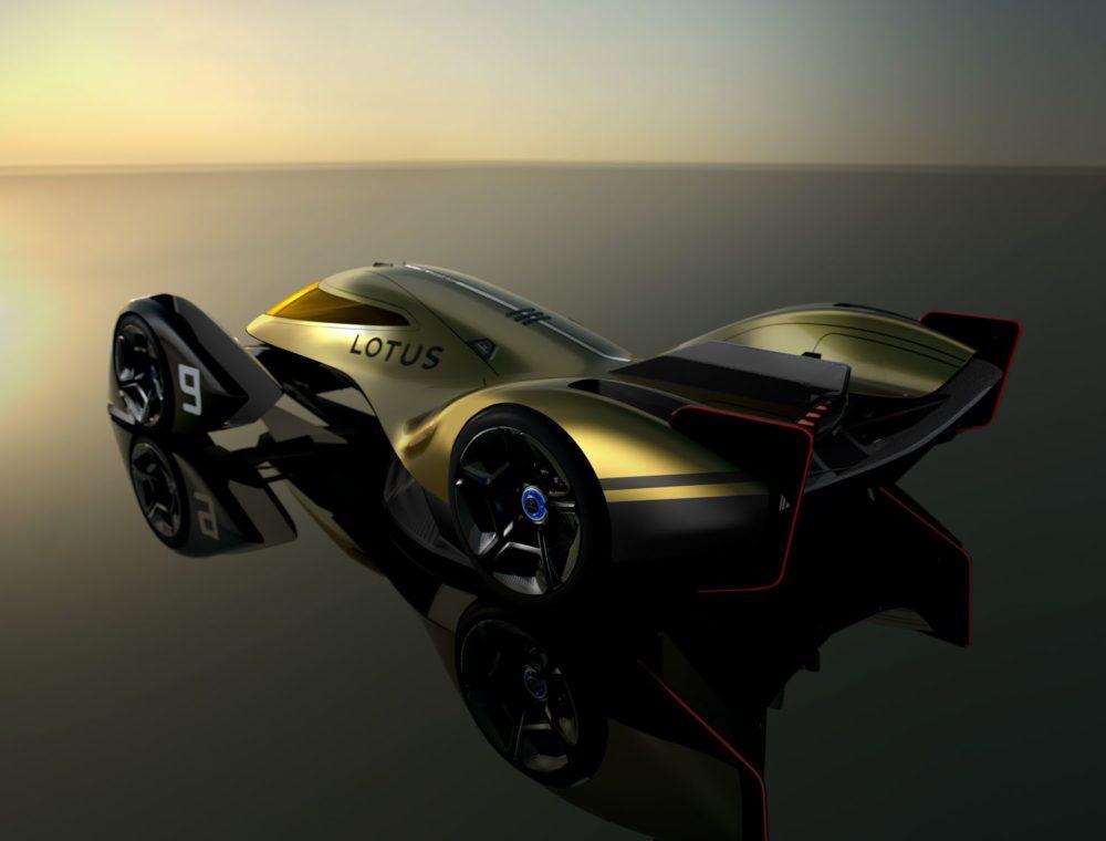 The Lotus E-R9 is a next-generation EV Endurance Racer