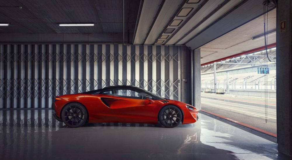 The McLaren Artura is a next-generation high-performance hybrid supercar