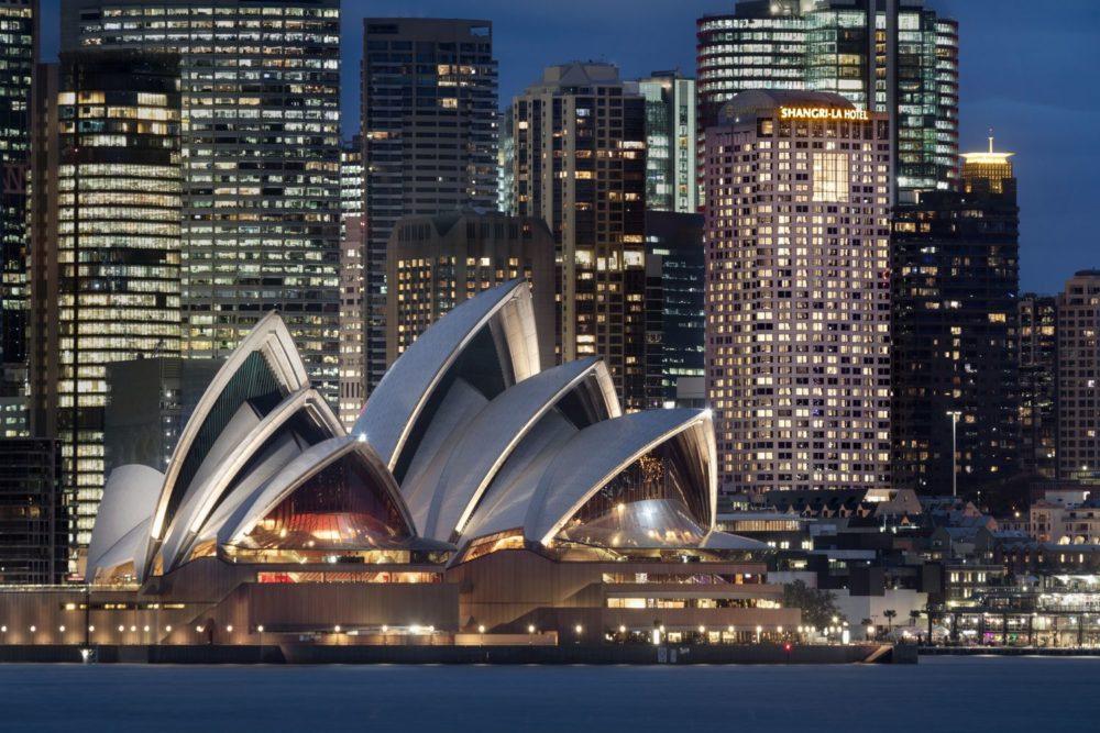 The Shangri-La Hotel, Sydney is a self-proclaimed 'elegant sanctuary'
