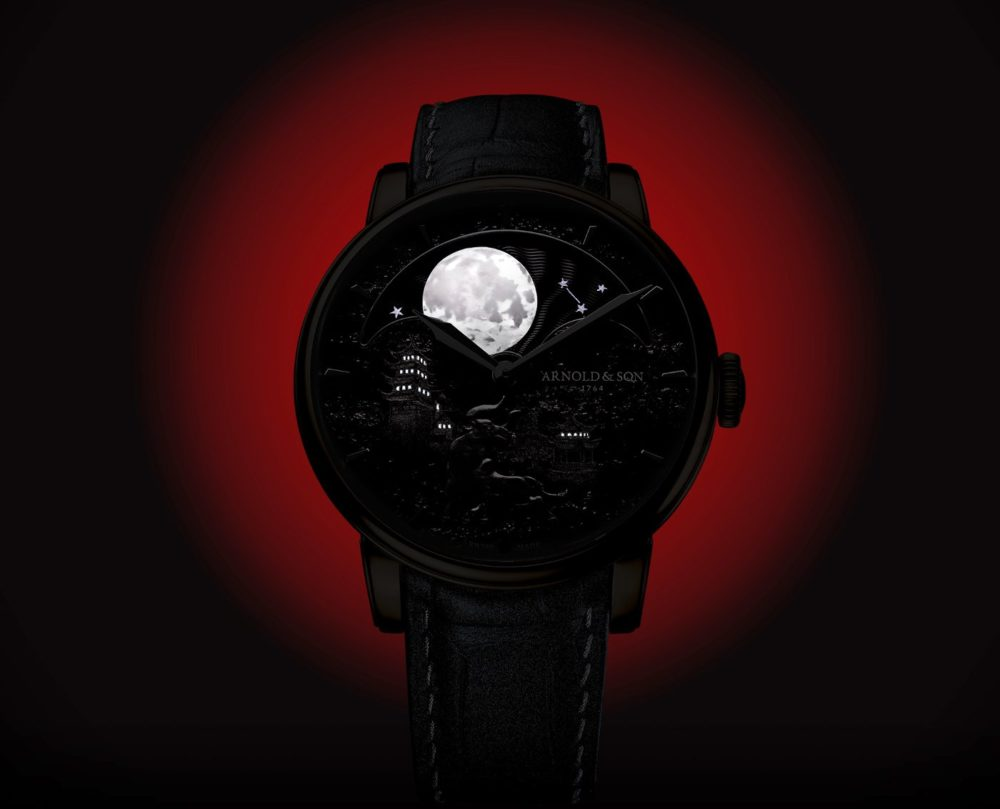 """Arnold & Son presents the Perpetual Moon """"Year of the Ox"""""""