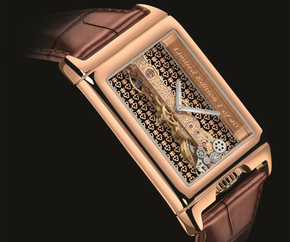Corum introduces two new limited edition models for its iconic Golden Bridge