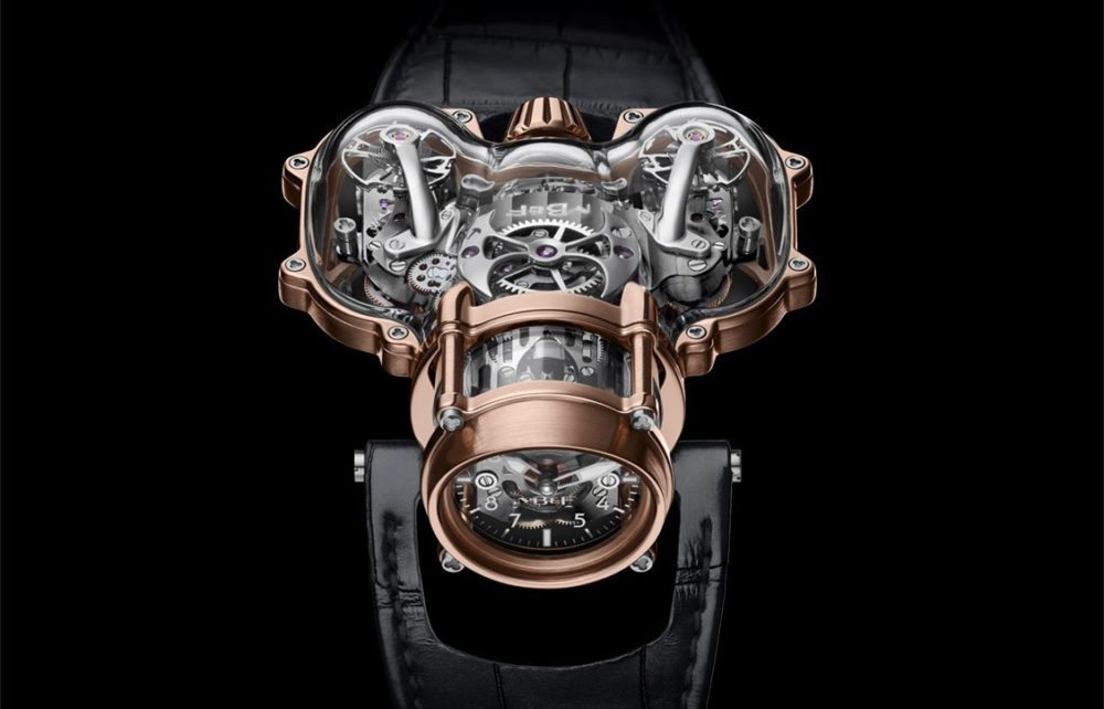 MB&F presents Horological Machine N°9 'Sapphire Vision'