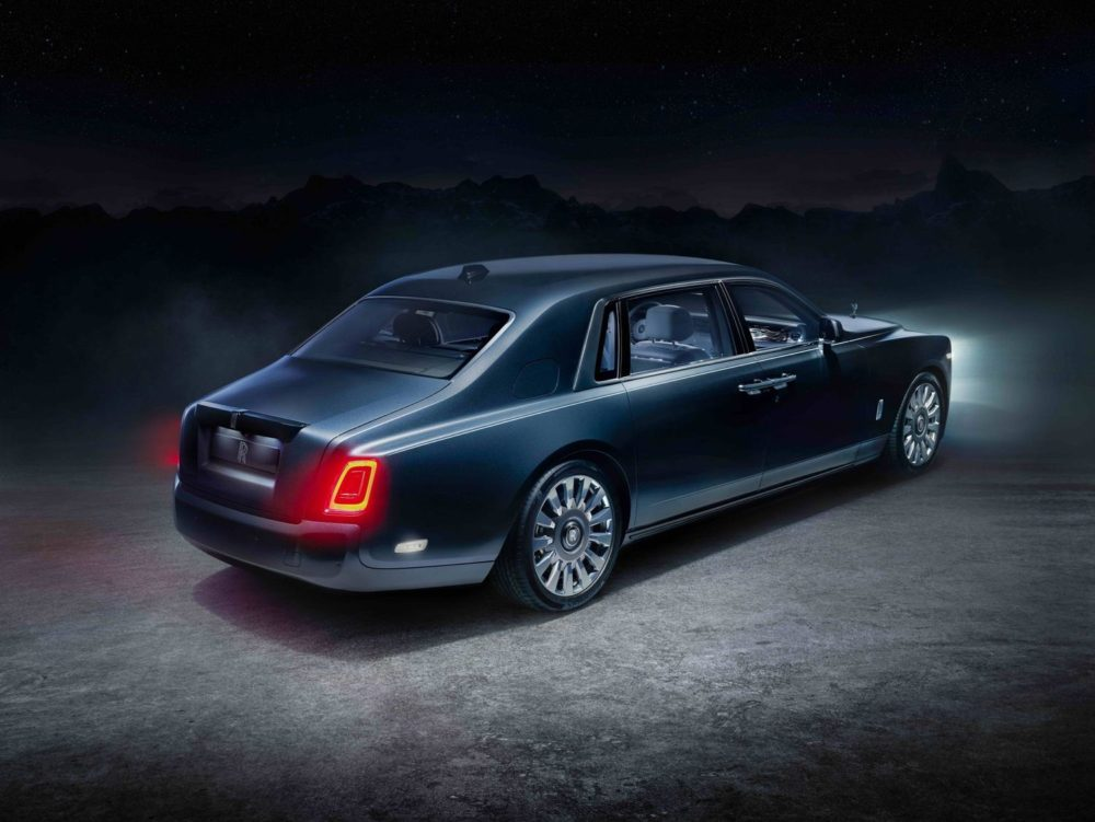 The Rolls-Royce Tempus Collection is a new addition to the marque's pinnacle Phantom limousine