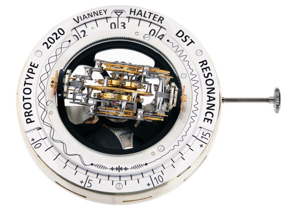 Vianney Halter's new Deep Space Resonance Masterpiece