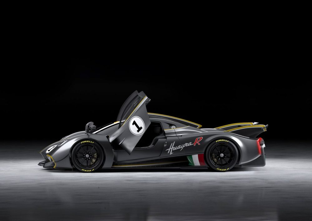 The Pagani Huayra R is the most extreme Pagani Hypercar made exclusively for use on the track