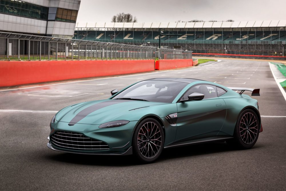 The Aston Martin Vantage F1 Edition brings race-track Performance on the road