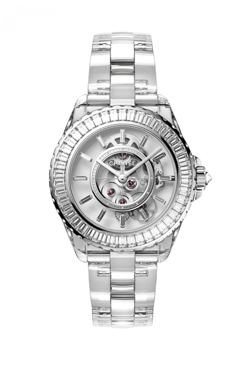 Sapphire On Sapphire, introducing the Chanel J12 X-Ray