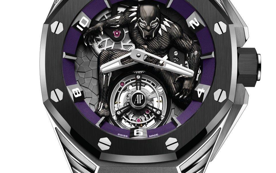 """Unveiling Audemars Piguet's limited """"Black Panther"""" edition"""