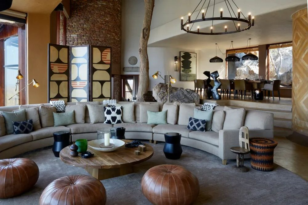 Singita Malilangwe House, an expansive African home in Pamushana, Zimbabwe
