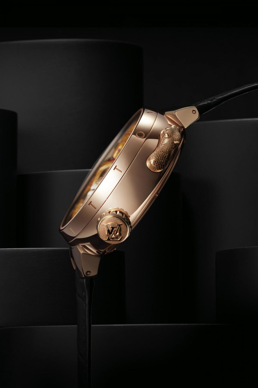 Louis Vuitton introduces the Tambour Carpe Diem