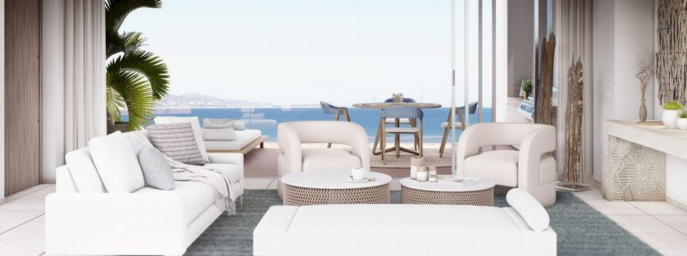Querencia private residences offer signature style and service right to the water's edge